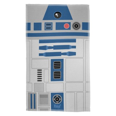 Pano de Prato Geek Side Faces - R2