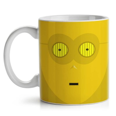Caneca Geek Side Faces - C3