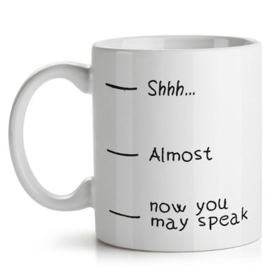 Caneca Now You May Speak