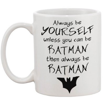 Caneca Always be Batman