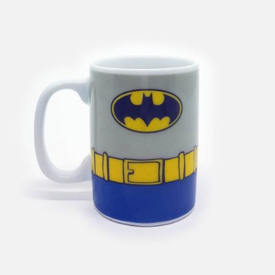 Mini Caneca DC Batman Body Customs