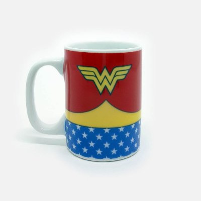 Mini Caneca DC Wonder Woman Body Customs