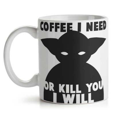 Caneca Geek Side Mestre Coffee