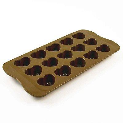 Forma para Chocolate e Bombom Coração