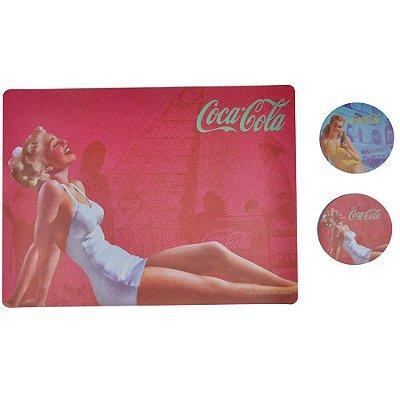 Jogo Americano Coca-Cola Blonde - 4 peças
