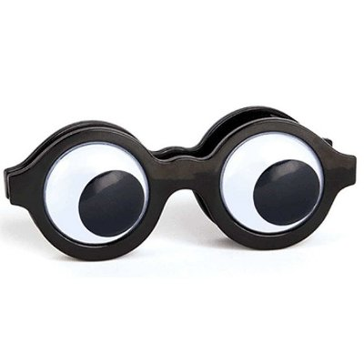 Prendedor Clipe Googly Eye Bag Clip