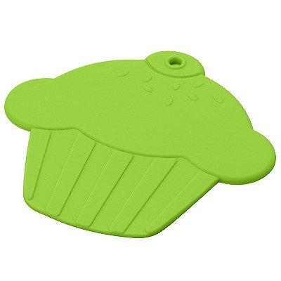 Descanso para panela Cupcake - verde
