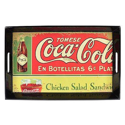 Bandeja Coca-Cola En Botellitas Retrô