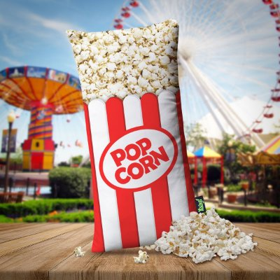 Almofada Popcorn Pipoca Pipoquinha