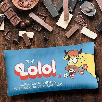 Almofada Retrô Chocolate Lolol