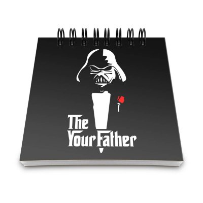 Bloco de Anotações Geek Side - The Your Father