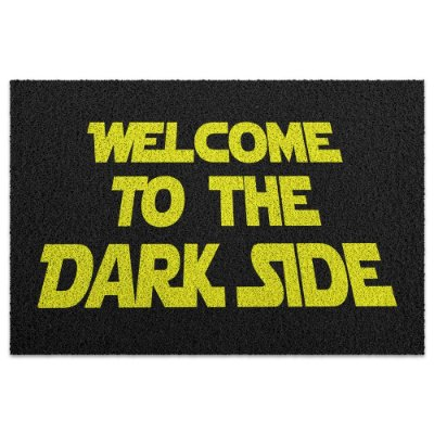 Capacho em Vinil Welcome to the Dark Side - 60 x 40
