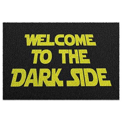 Capacho em Vinil Welcome to the Dark Side - 60 x 40