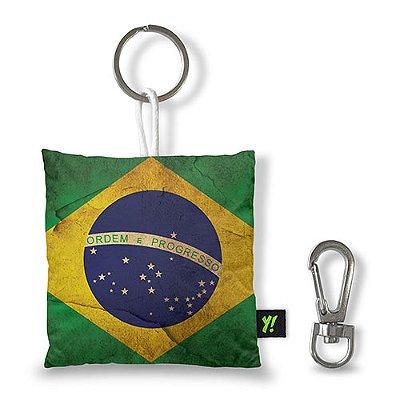 Chaveiro Bandeira do Brasil