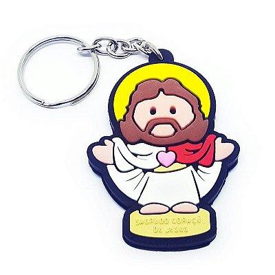 Chaveiro Santinho Jesus