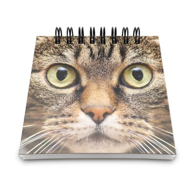 Bloco de Anotações Cat Face