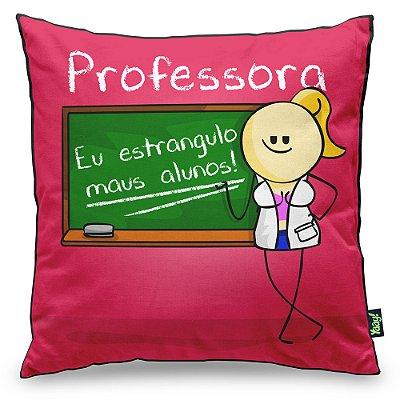 Almofada DrPepper Profissões - Professora