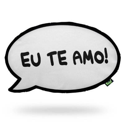 Almofada HQ - Eu te amo Meu amor