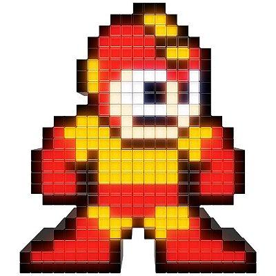 Luminária Pixel Pals Capcom - Solar Blaze Mega Man