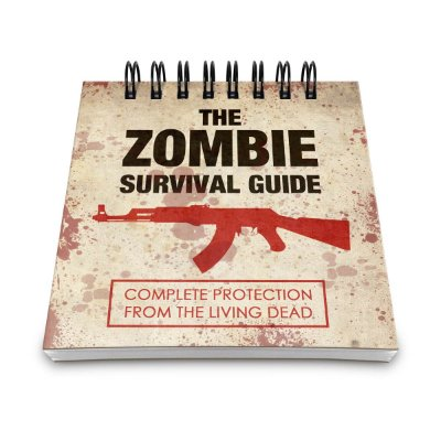 Bloco de Anotações The Zombie Survival Guide