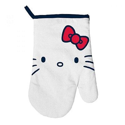 Luva Para Forno Hello Kitty algodão Classic Faces