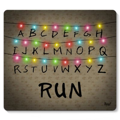 Mouse pad Stranger Run