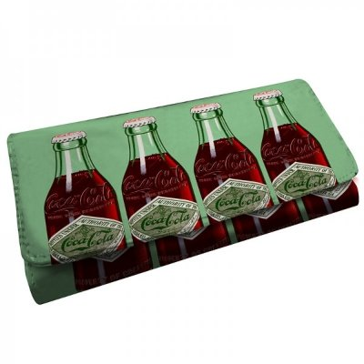 Carteira Coca-Cola Four Bottle