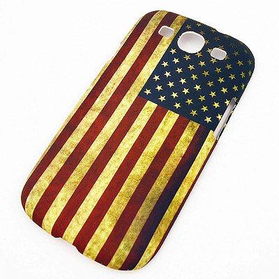 Capa para Galaxy S3 Bandeira Estados Unidos