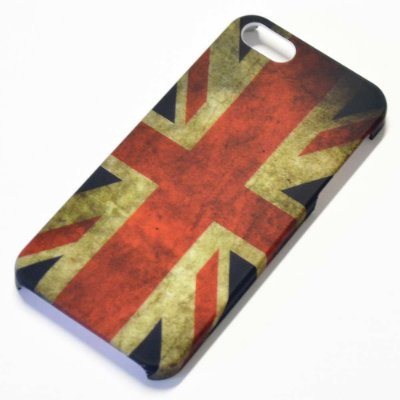 Capa para iPhone 5 Bandeira Reino Unido