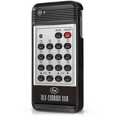 Capa para iPhone 4 ou 4S Controle Remoto Retrô