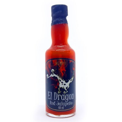 Molho de Pimenta Mix Pepper El Dragon Red Jalapeño