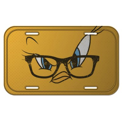 Placa de Metal Decorativa Looney Tunes Piu-Piu