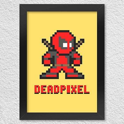 Poster com Moldura Dead Pixel