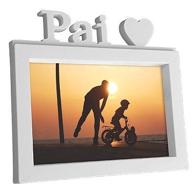 Porta Retrato 15 x 10 Pai S2 - branco