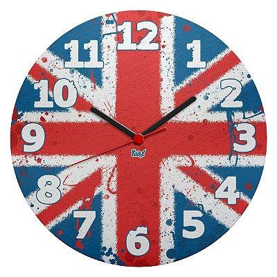 Relógio de Parede Ecológico UK Reino Unido