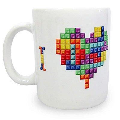 Caneca I Love Tetris