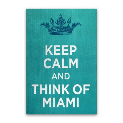 Quadro Keep Calm 20x30