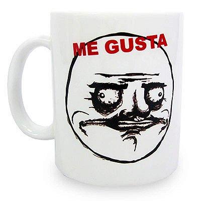 Caneca MEME Me Gusta