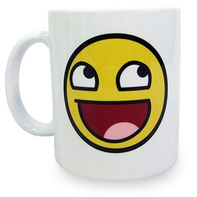 Caneca MEME Awesome Face