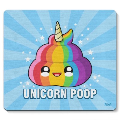 Mouse pad Unicorn Poop