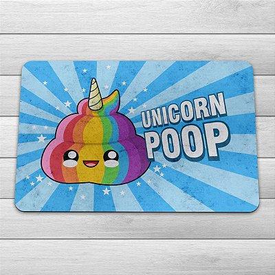 Capacho Eco Slim 3mm Unicorn Poop