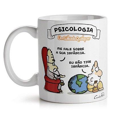 Caneca USQ Profissões Psicologia