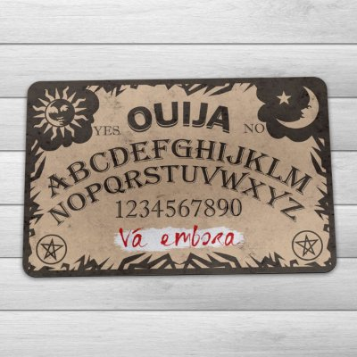 Capacho Eco Slim 3mm Tabuleiro Ouija - Vá embora