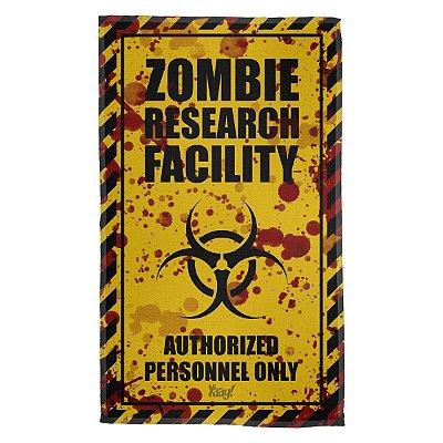 Pano Multiuso em Microfibra Zombie Research Facility - Blood