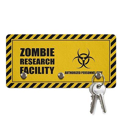 Porta Chaves Ecológico 3 Pontos Zombie Research Facility