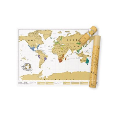 Mapa-múndi Raspadinha