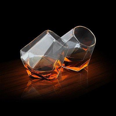 Copo Diamante para whisky