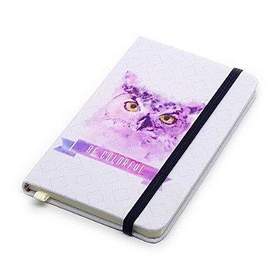 Caderneta de Anotação Be Colorful - coruja