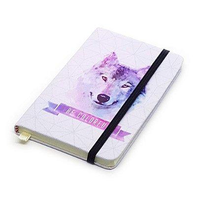 Caderneta de Anotação Be Colorful - lobo
