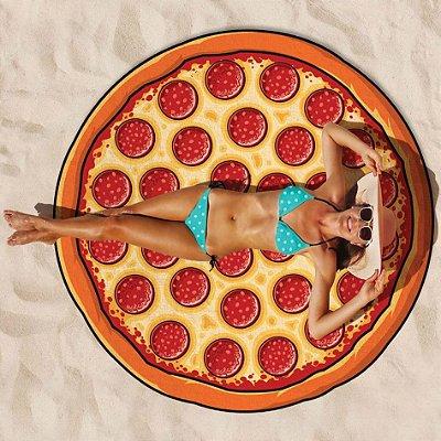 Toalha de Praia Pizza